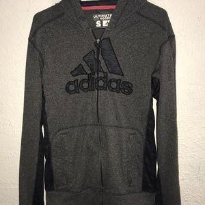 Adidas zip up ultimate hoodie